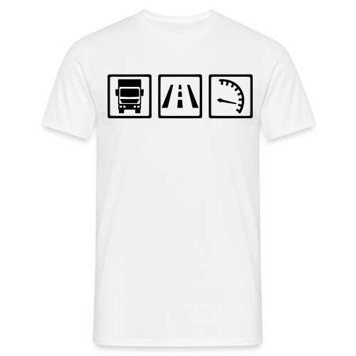 Things of the Truck Driver - Men's T-Shirt