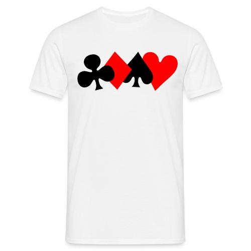 4 couleurs (homme) - T-shirt Homme