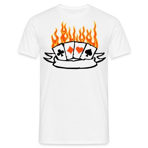 Les AS enflammés  - T-shirt Homme