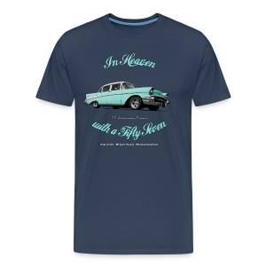 Men's Premium T-Shirt 57 Chevy | Classic American Automotive - Men's Premium T-Shirt