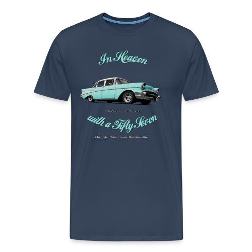 Men's Premium T-Shirt 57 Chevy | Classic American Automotive - Men's Premium T-Shirt