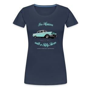 Women's Premium T-Shirt 57 Chevy | Classic American Automotive  - Women's Premium T-Shirt