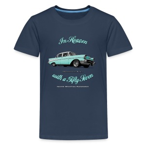 Teenage Premium T-Shirt 57 Chevy | Classic American Automotive  - Teenage Premium T-Shirt