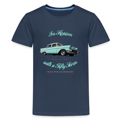 Teenage Premium T-Shirt 57 Chevy | Classic American Automotive  - Teenage Premium T-Shirt