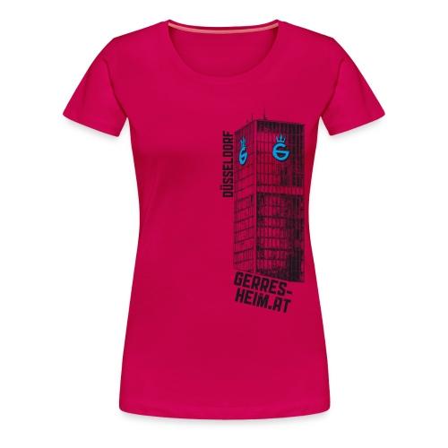 Der Glasturm. Frau. - Frauen Premium T-Shirt