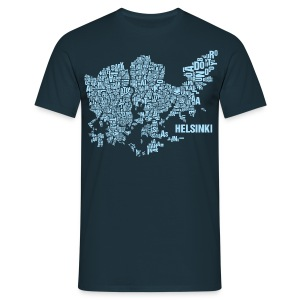 Helsinki Shirt Skyblue - Male - Männer T-Shirt