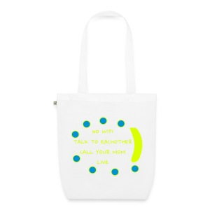 No Wifi- bag - EarthPositive Tote Bag