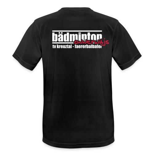 Herren T-Shirt atmungsaktiv - onnerwäjs - Männer T-Shirt atmungsaktiv