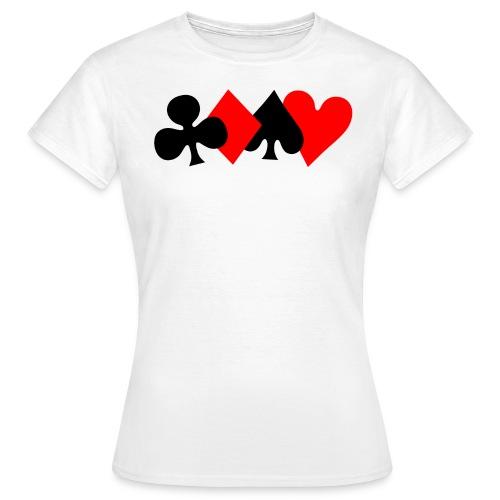 4 couleurs (femme) - T-shirt Femme