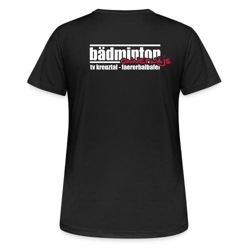 Damen T-Shirt atmungsaktiv - onnerwäjs - Frauen T-Shirt atmungsaktiv