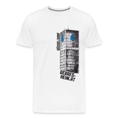 Der Glasturm. Mann. - Männer Premium T-Shirt