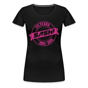 Woman Premium T-Shirt SASH! 20 Years - Women's Premium T-Shirt