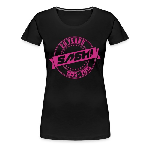 Woman Premium T-Shirt SASH! 20 Years - Women's Premium T-Shirt