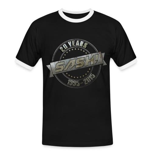 Men T-Shirt SASH! 20 Years Kontrast - Men's Ringer Shirt