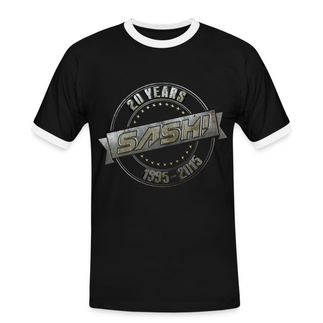 Men T-Shirt SASH! 20 Years Kontrast