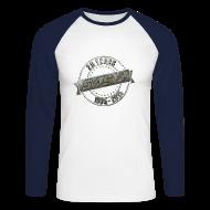 Long sleeve shirts ~ Men's Long Sleeve Baseball T-Shirt ~ Men Baseballshirt SASH! 20 Years