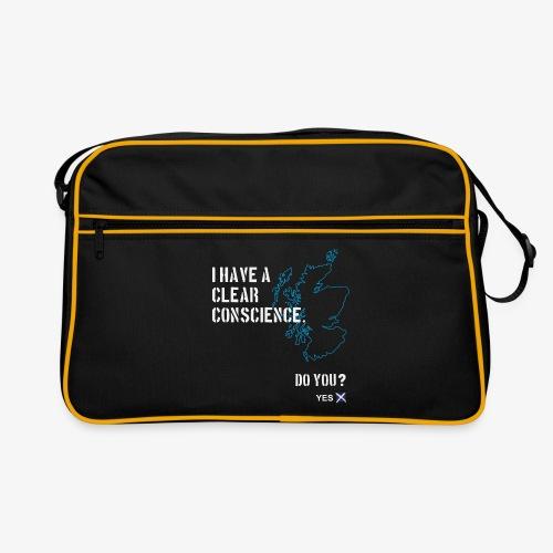 Clear Conscience - Retro Bag