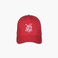 With Style! Cool & Trendy Typography Design  Caps & Hats