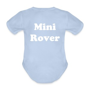 Baby Body Mini Rover - Baby Bio-Kurzarm-Body