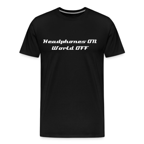 World Off - black - Men's Premium T-Shirt