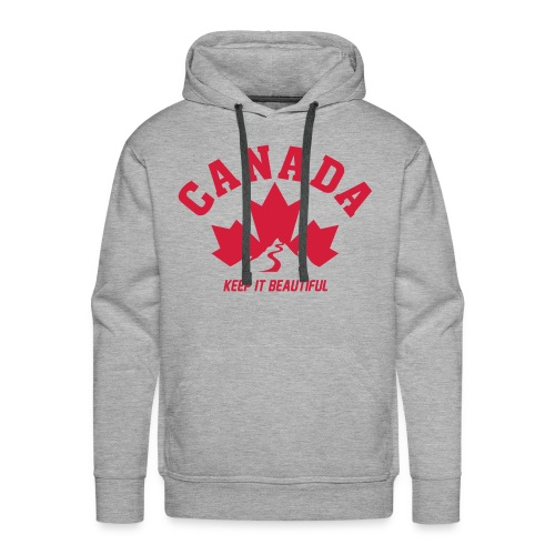 Canada Hoodie - Keep it beautiful - Männer Premium Hoodie