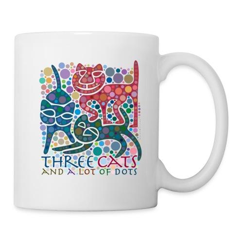 Drei-Katzen-Tasse - Tasse