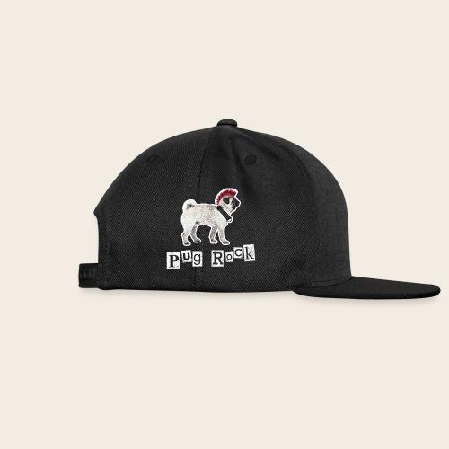 Pug Rock Retro Basecap - Snapback Cap