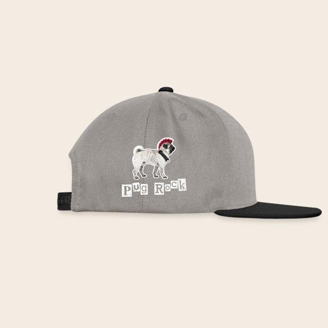 Pug Rock Retro Basecap