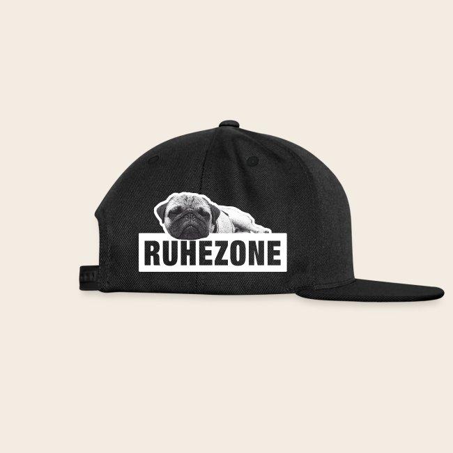 Mops Ruhezone Retro Basecap