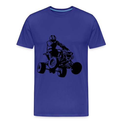 Quad Shirt Male - Mannen Premium T-shirt