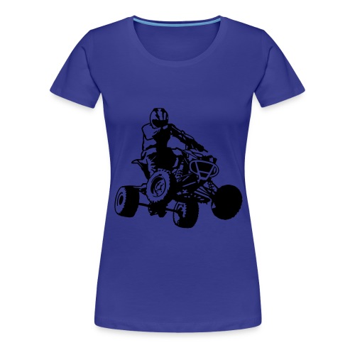 Quad Shirt Female - Vrouwen Premium T-shirt