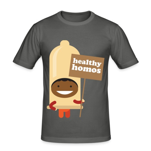 Healthy Homo - Men's Slim Fit T-Shirt