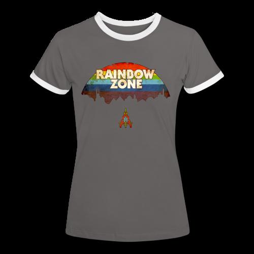 RainbowZone (free shirtcolour selection) - Women's Ringer T-Shirt