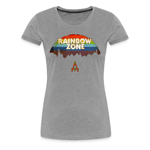 RainbowZone (free shirtcolour selection) - Women's Premium T-Shirt