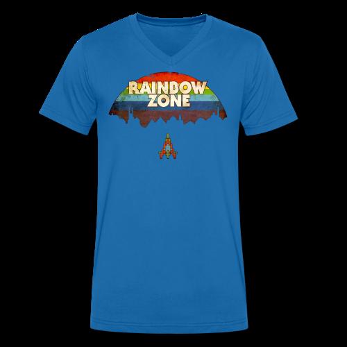 RainbowZone (free shirtcolour selection) - Men's Organic V-Neck T-Shirt by Stanley & Stella