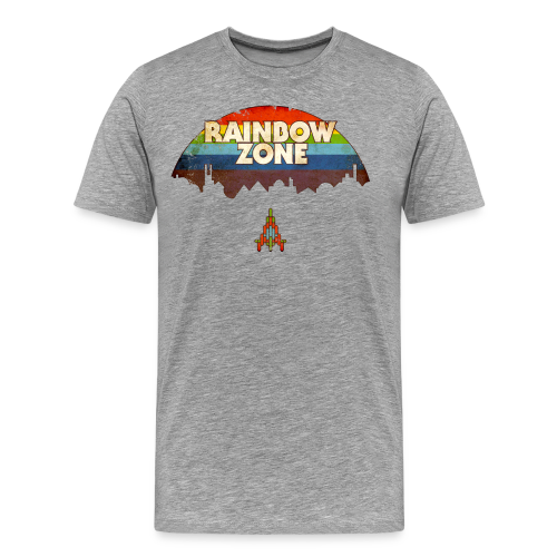 RainbowZone (free shirtcolour selection) - Men's Premium T-Shirt