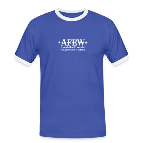 Tshirt contraste homme - T-shirt contrasté Homme