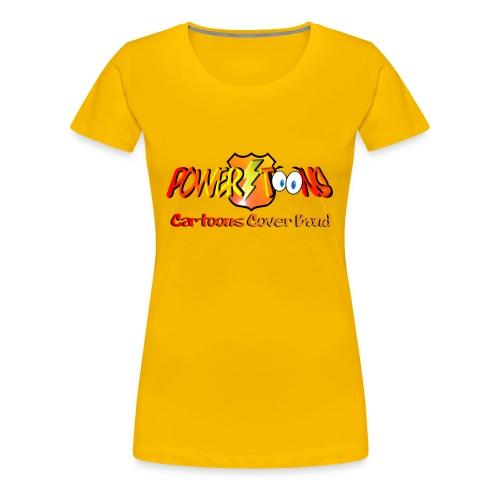 T-Shirt PowertOOns Donna - Maglietta Premium da donna