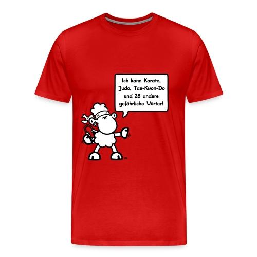 Ich kann Karate, Judo, Tae-Kwon-Do und 28 andere gefährliche Worter! - Männer Premium T-Shirt