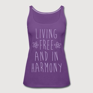 LIVING FREE - Frauen Premium Tank Top