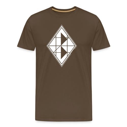 White Diamond Premium - Männer Premium T-Shirt