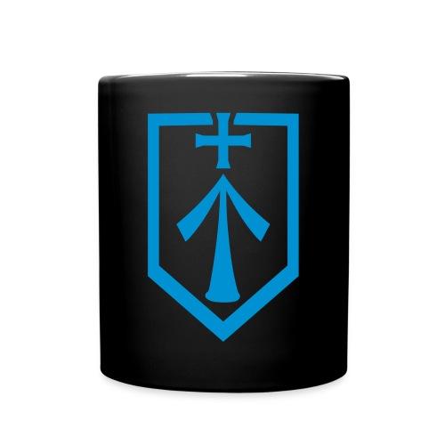 Logo Kaffeetasse (Schwarz) - Tasse einfarbig