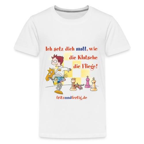 Ich setz dich matt - Teenager Premium T-Shirt