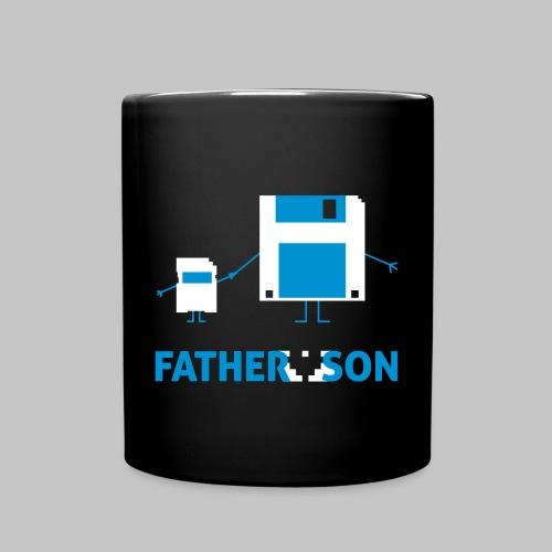 Tasse Father and Son - Tasse einfarbig