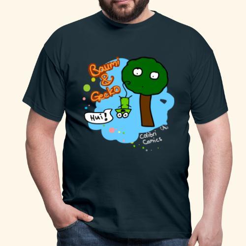 Baumi & Gecko - Männer T-Shirt