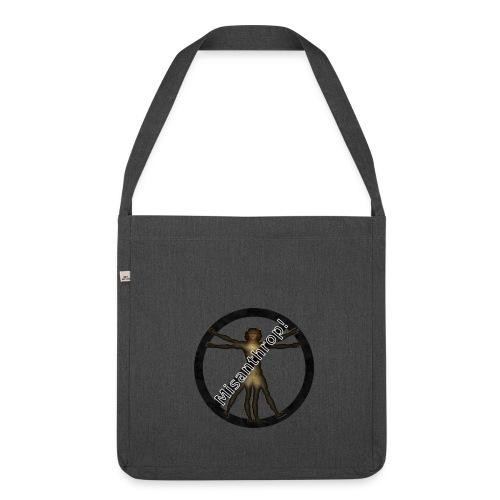 Misanthrop Tasche - Schultertasche aus Recycling-Material