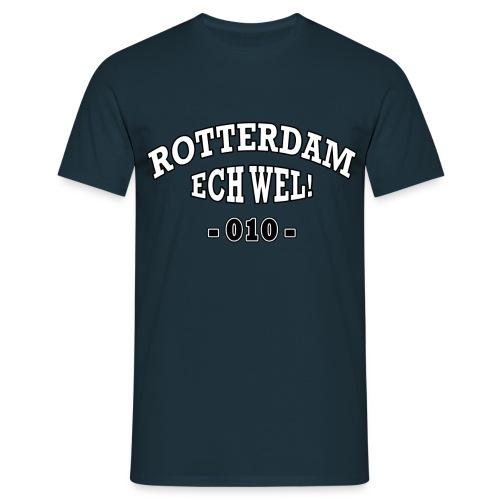 Rotterdam - Ech Wel! - 010 (Heren) - Mannen T-shirt