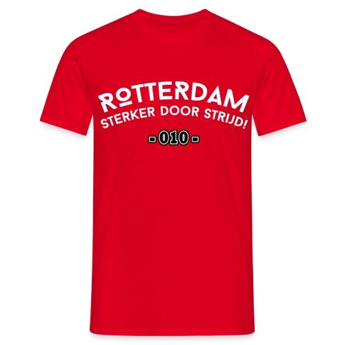 Rotterdam - Sterker door strijd - Mannen T-shirt