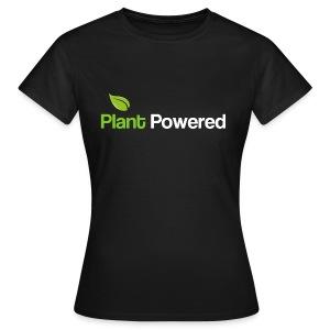 plant powered women's t shirt - Women's T-Shirt
