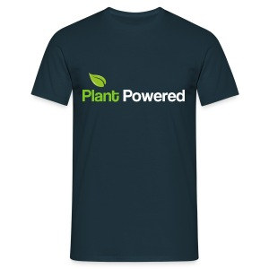 plant powered t shirt - Men's T-Shirt